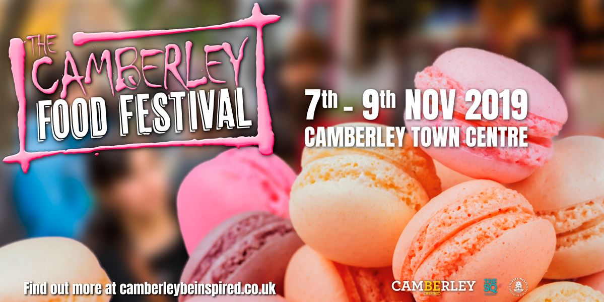 The Camberley Food Festival leaflet