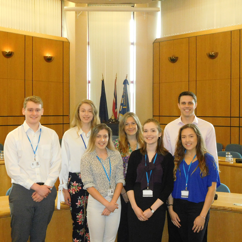 2019 Surrey Heath Borough Council Interns