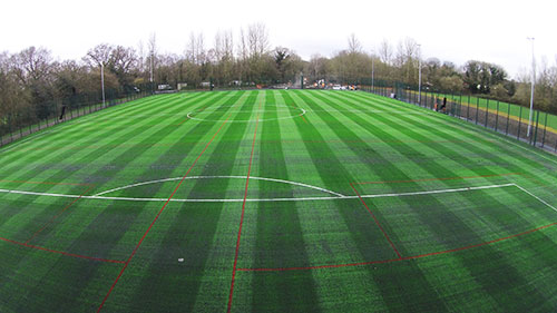 Artificial turf 3G pitch