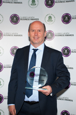CSR - Sainsbury's (award accepted by Glen Fulton, The Mall)