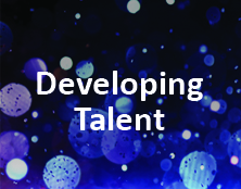 Developing Talent Award Button. Click for more information.