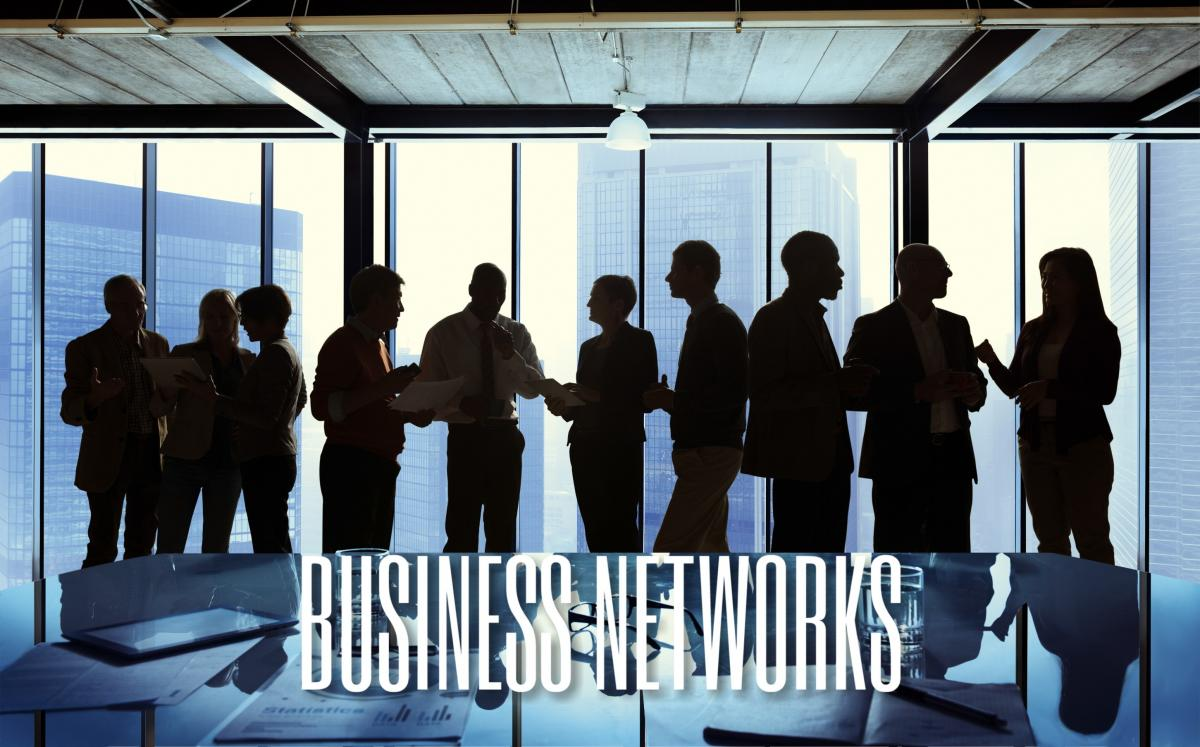 People networking (decorative image)