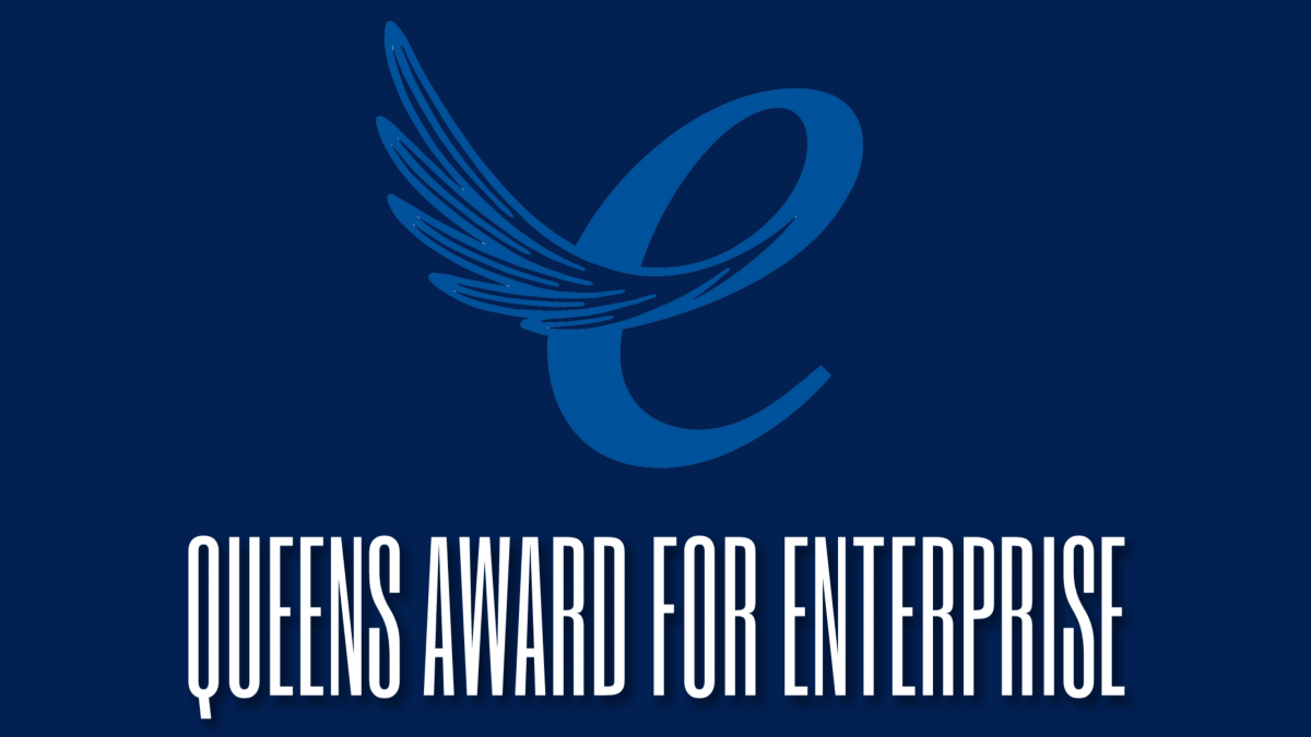 Queens Award for Enterprise logo (decorative)