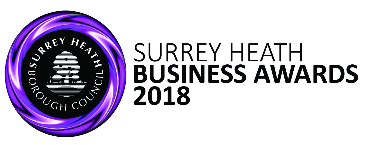Surrey Heath Business Awards logo 2018