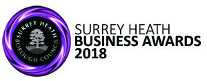 Surrey Heath Business Awards 2018 logo