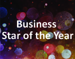 Business Star of the Year Award Button. Click for more information.