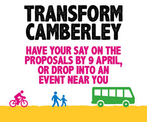 A30 and Camberley Town Centre Proposals Have Your Say - Surrey County Council