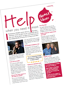 Heathscene article - alarms and telecare