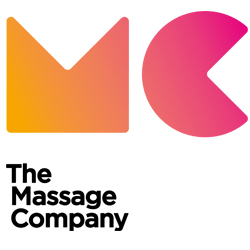 The Massage Company logo and link to The Massage Company Website