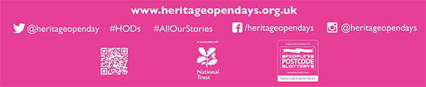 Heritage Open Days Sociual Media options