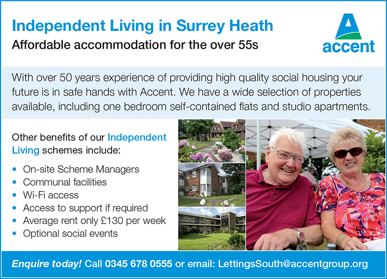 Accent Independent Living advert