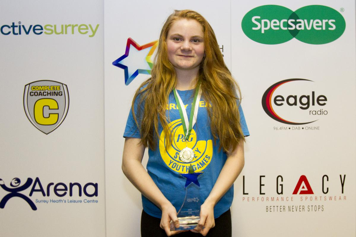 Surrey Youth Games 'Performance of the Games' - Ellen D'Arcy