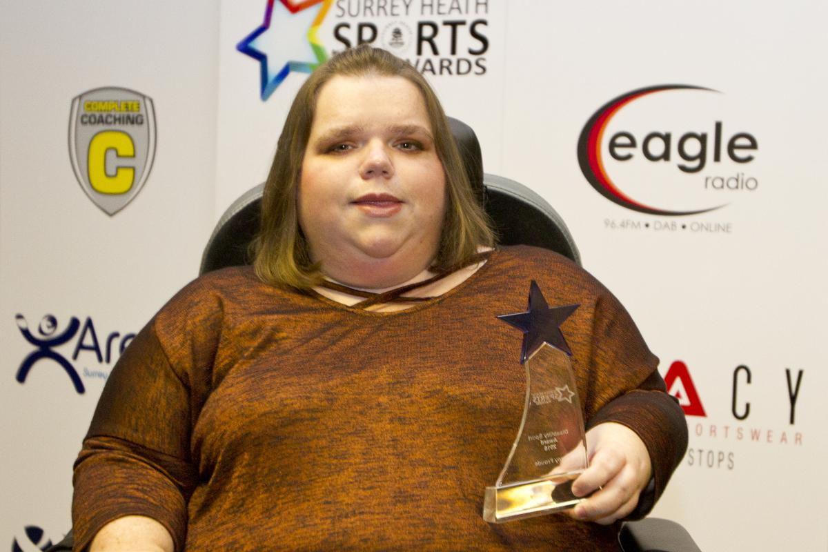 Disability Sports Award – Penny Froude