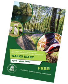 Walks Diary April - June 2017