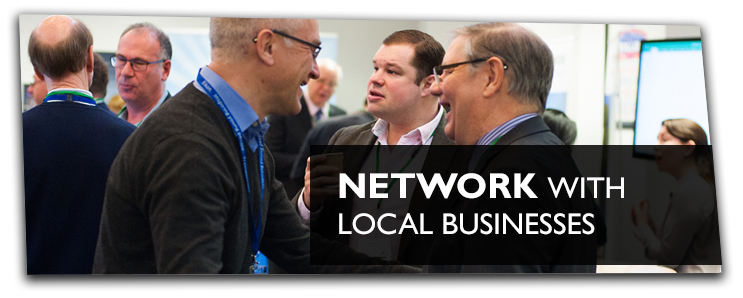 Network with local businesses