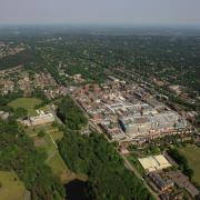 Ariel image of Camberley