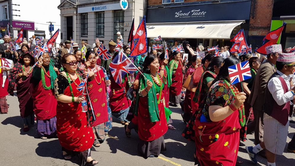 Camberley Carnival - 2017 procession